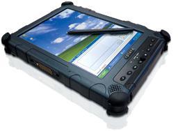 Xplore iX104 tablet PC